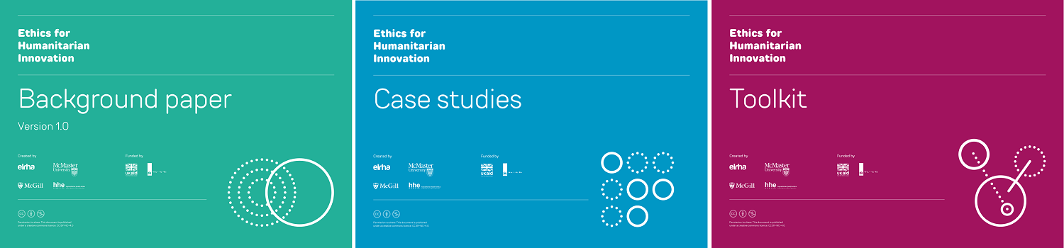 An image of the cover pages of the background paper, case studies, and toolkit